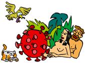 dessin biodiversité Covid-19