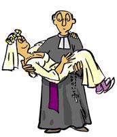 Mariage des prêtres desssin